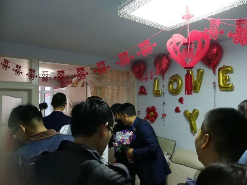 中国,結婚式,伝統,文化,豪華