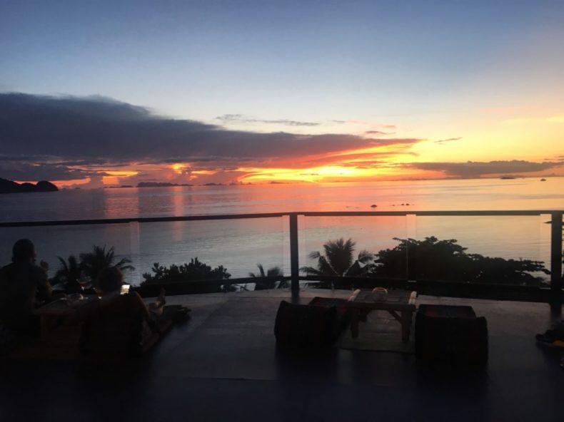 タイ,パンガン島,フルムーンパーティー,絶景,夕焼け,オススメ,夕日