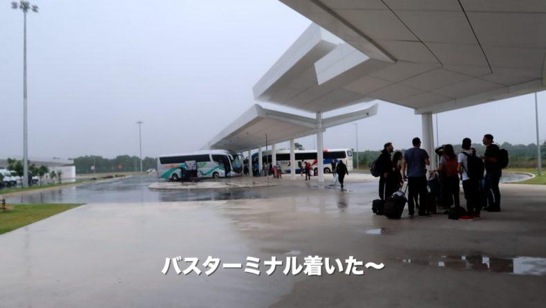 メキシコ,カンクン,空港,ダウンタウン,バス,行き方,ADO