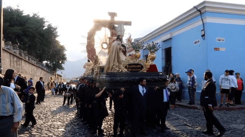グアテマラ,アンティグア,イースター,セマナ・サンタ