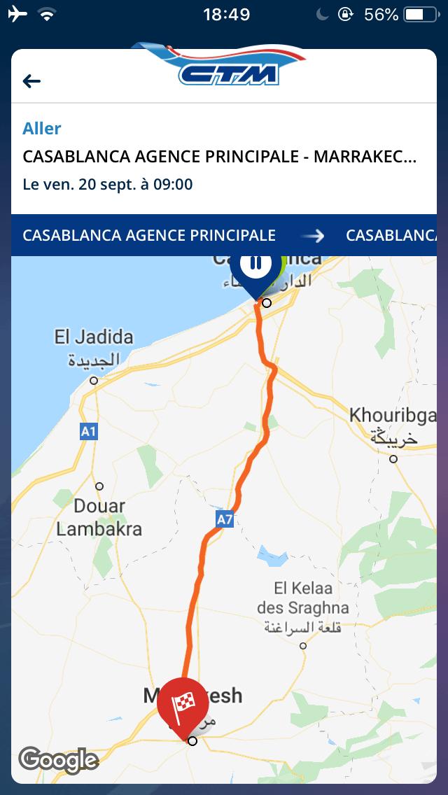 モロッコ,バス移動,ctm,予約手順,シャウエン,フェズ
