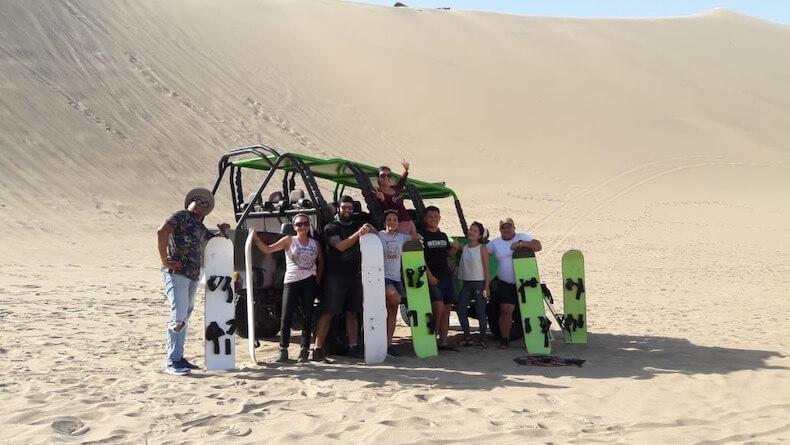 パラカス ,砂漠ツアー,観光