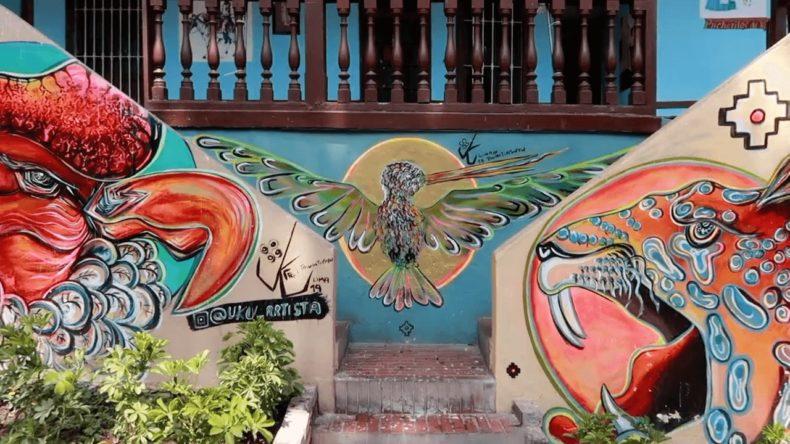リマ,旧市街,バランコ地区,アート,観光,グルメ,レストラン,猫
