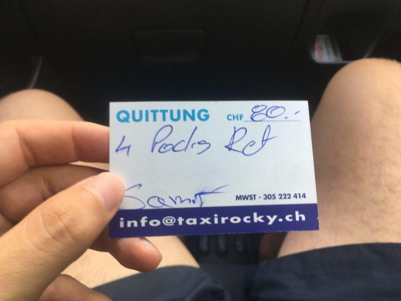 ツェルマット,スイス,駐車場,オススメ,金額