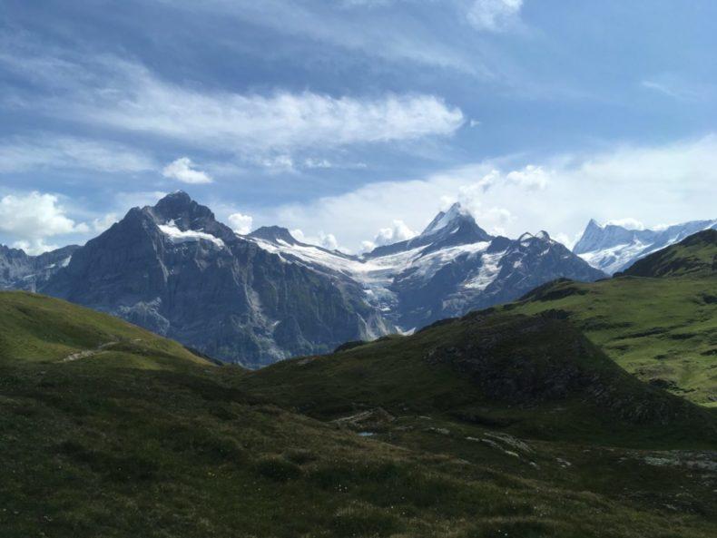 グリンデルワルト,ハイキング,山登り,バッハアルプゼー,観光,スイス
