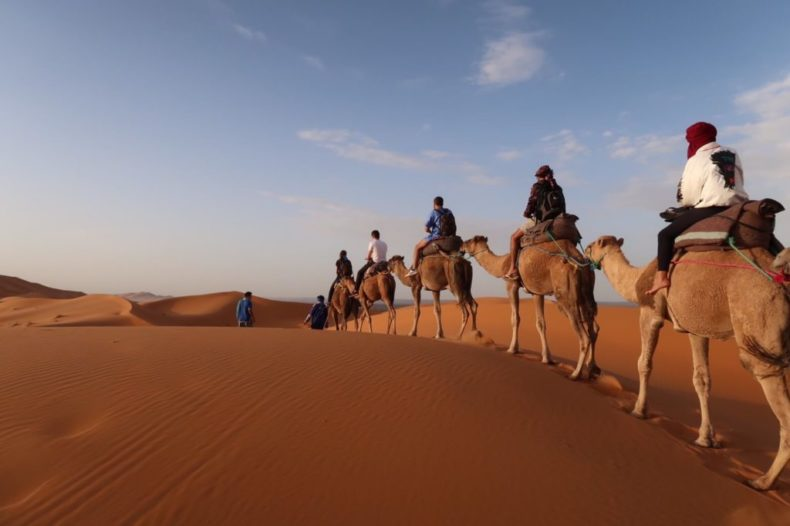 モロッコ,フェズ ,メルズーガ,サハラ砂漠,airbnb,バス