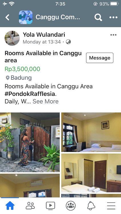 インドネシア,バリ,長期滞在,観光,チャングー,家探し