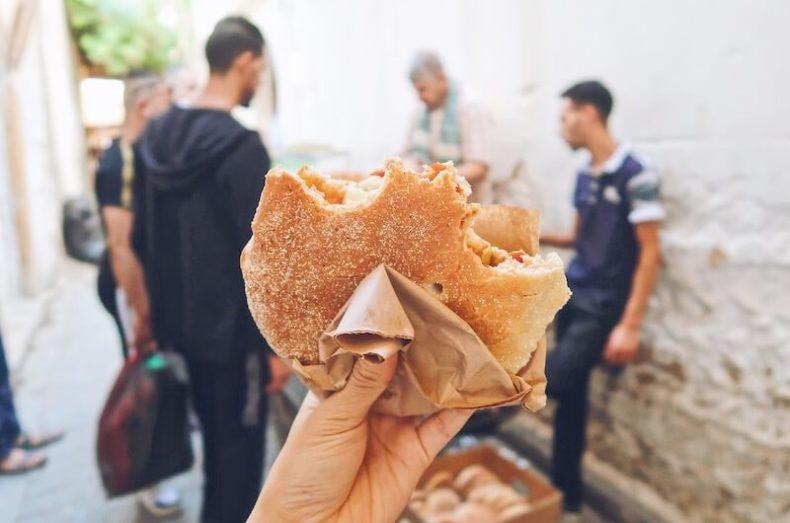 モロッコ,フェス,食べ歩き,グルメ,カフェ