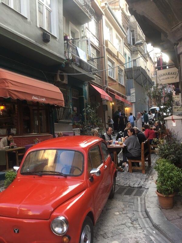 トルコ,バラト,イスタンブール,カフェ,グルメ,レストラン