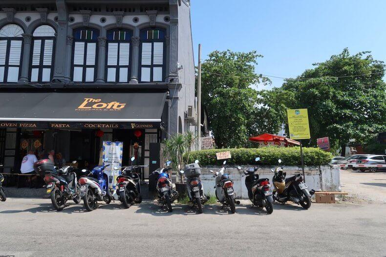 マレーシア,ペナン島,レンタバイク,バイク