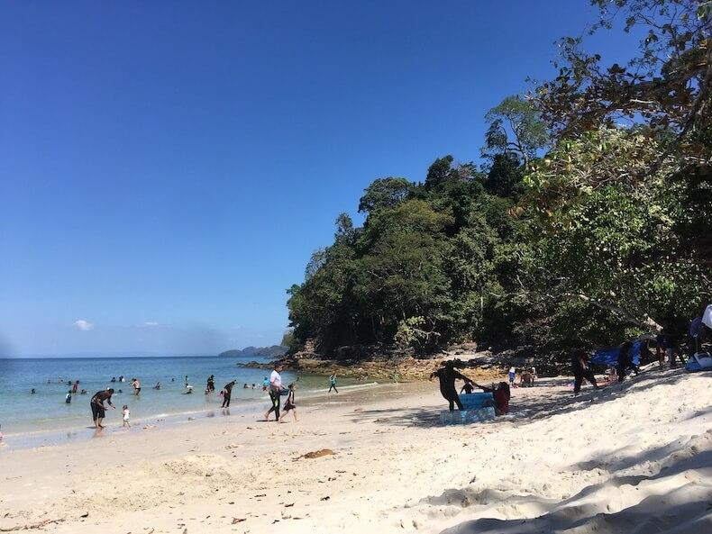 マレーシア,ランカウイ島,ビーチ,きれい