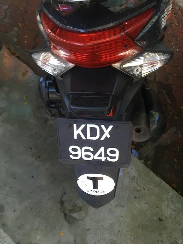 マレーシア,ランカウイ島,レンタバイク,バイク