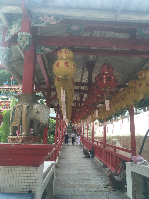 マレーシア,ペナン島,観光,極楽寺