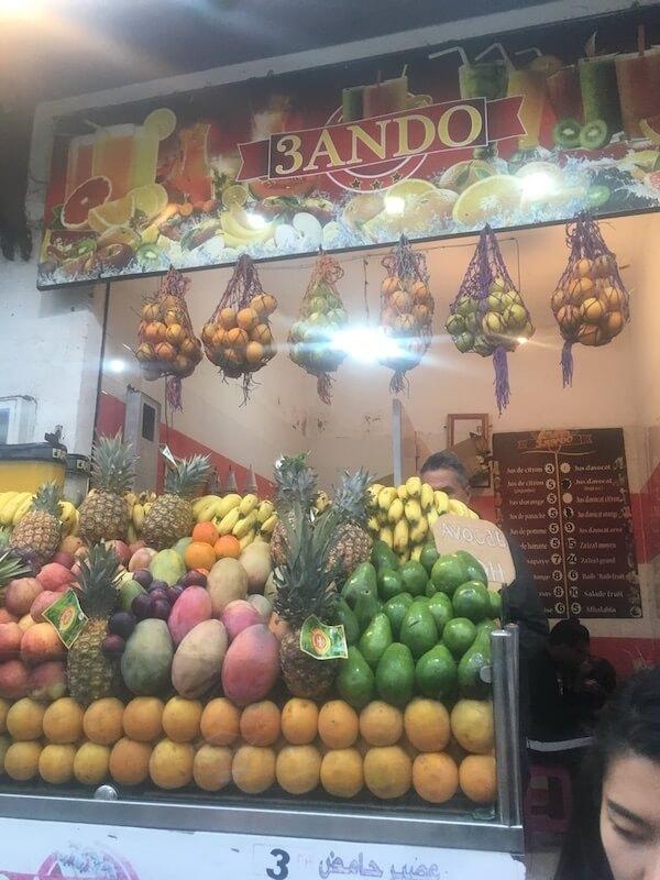 モロッコ,ラバト,グルメ,レストラン,スイーツ,サンドイッチ