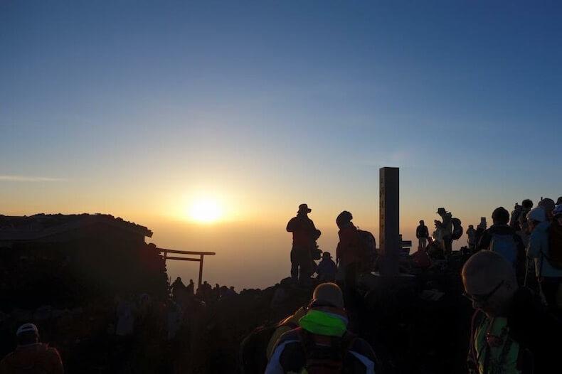 富士山,登山,友達,学び,御来光