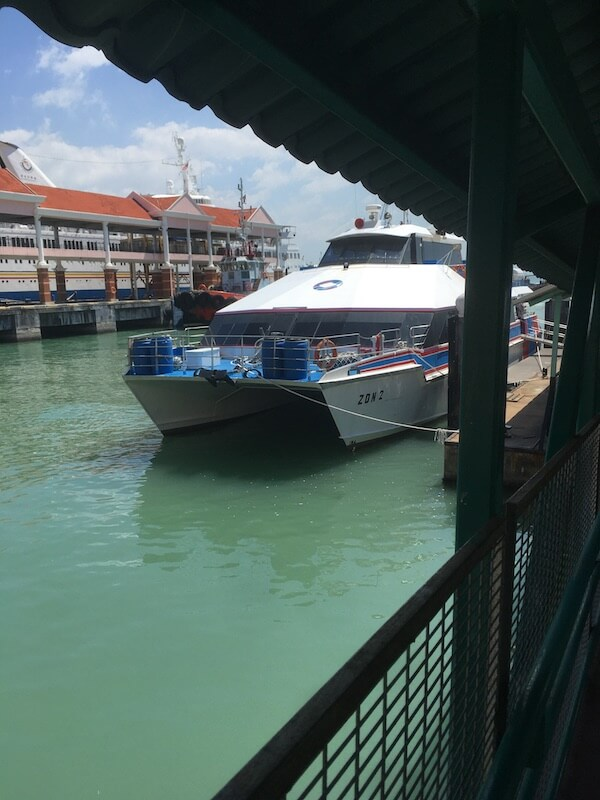 マレーシア,ランカウイ島,ペナン島,フェリー,移動方法