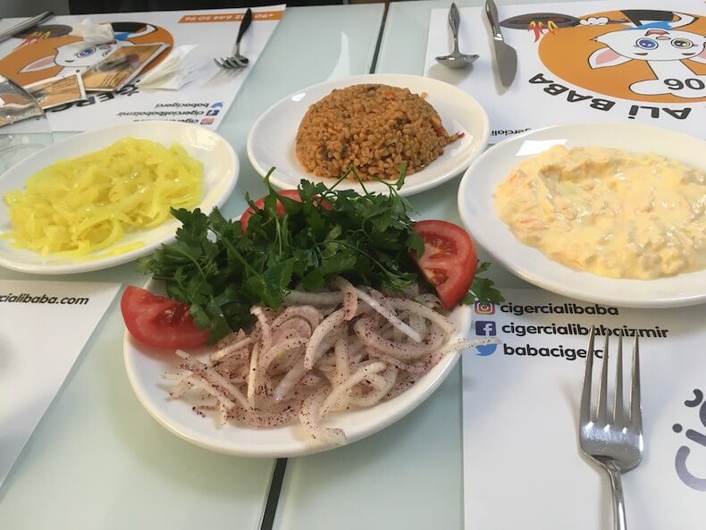 トルコ,イズミール ,グルメ,レストラン