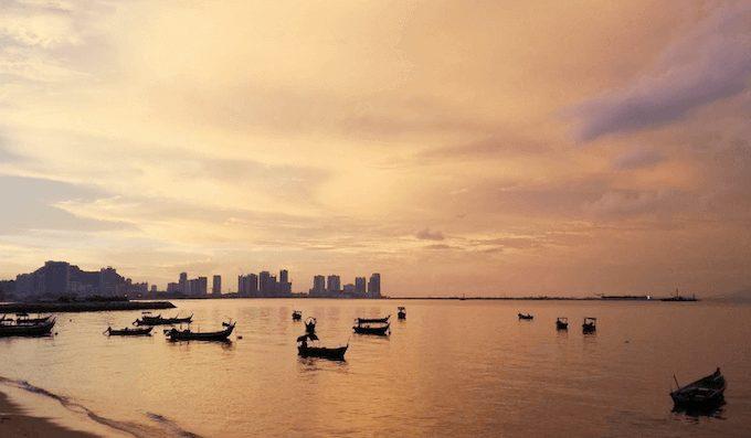 マレーシア,ペナン島,グルメ,レストラン