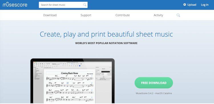 musescore,ピアノ,無料,楽譜