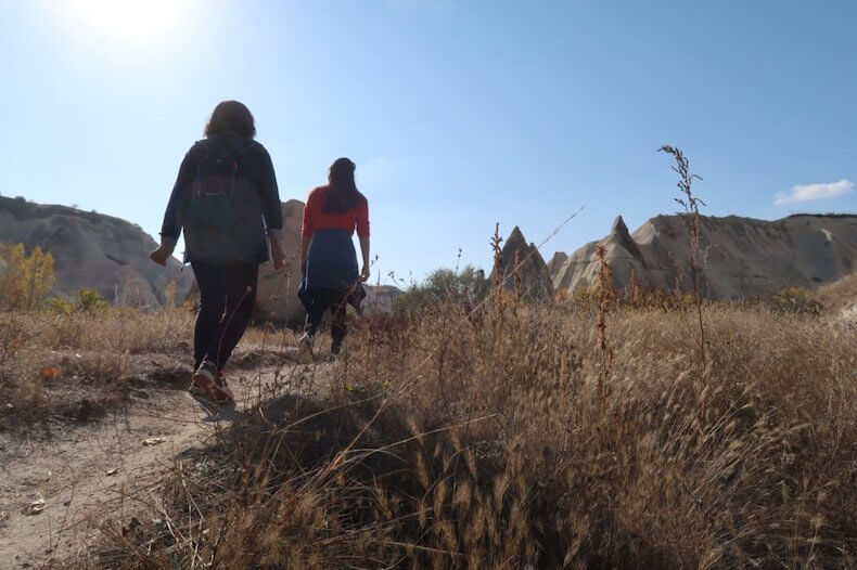 トルコ,カッパドキア,ハイキング