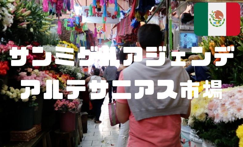 サンミゲル・デ・アジェンデで観光するならアルテサニアス市場へ行こう!